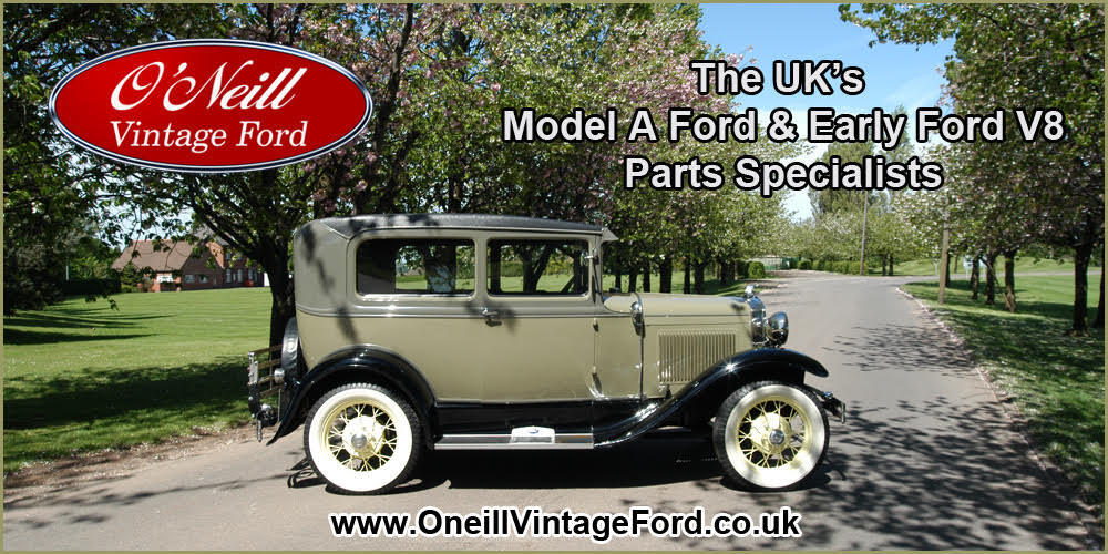 O' Neill Vintage Ford the UK parts specialist